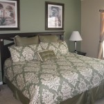 "The Master Suite has a king-size bed, 46"" Plasma TV and private full bath."