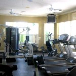 The Fitness Room allows you to stay in shape while enjoying a beautiful view of the resort