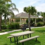 The picnic area provides BBQ grills, picnic tables and lots of open space for family outings